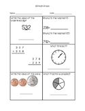 Math Probes for IEP Data Collection