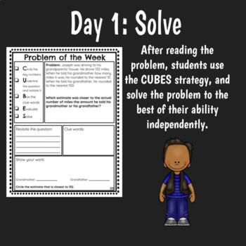Problem of the Week Math Word Problem Solving