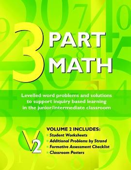 Math Problem Solving: 3 Part Math Volume 2