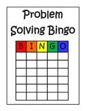 Math: Problem Solving Bingo