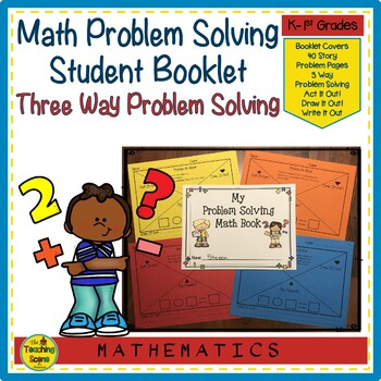 Math Story Problem Solving Book