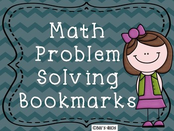 Math Problem Solving Bookmarks