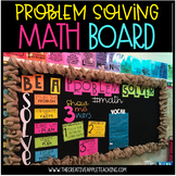 Math Problem Solving Bulletin Board