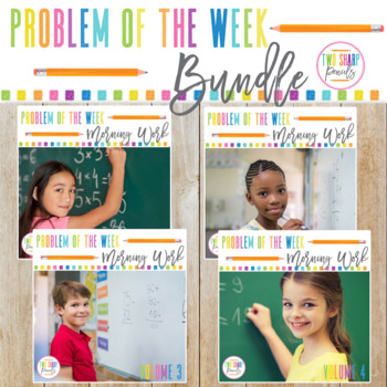 Problem of the week Math Word Problem Solving Bundle