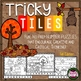 Math Problem Solving Bundle - Tricky Tile Activities for the ENTIRE School Year