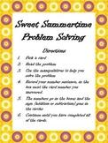 Math Problem Solving Center - summer theme