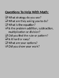Math Problem Solving Checklist