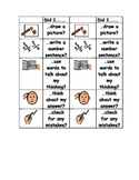 Math Problem Solving Checklist - Visual Support for Students with Autism