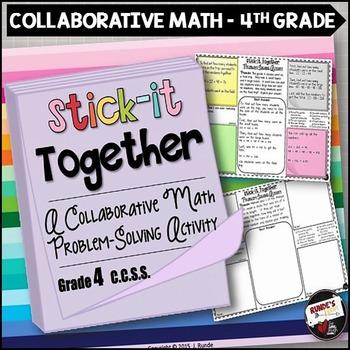 Math Problem-Solving Collaborative Activity for 4th Grade