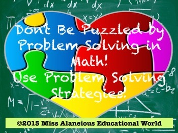 Math Problem Solving: Don't Be Puzzled by Problem Solving
