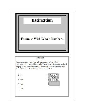 Math Problem Solving-Estimation 3