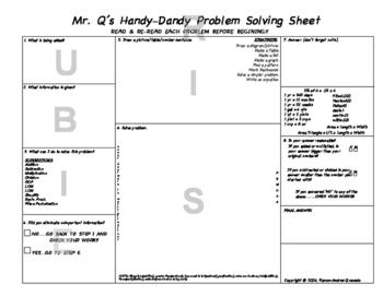 Math Problem Solving Guide