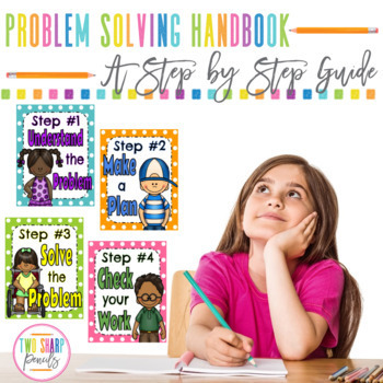 Math Problem Solving Handbook Interactive Notes, Worksheets