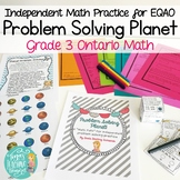 Math Problem Solving Independent Practice: Problem Solving Planet Math Path
