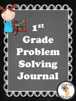 Math Problem Solving Journal- 1st Grade