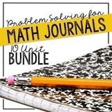 Problem of the Day Math Problem Solving Bundle for Math Journals
