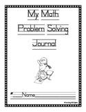 Math Problem Solving Journal