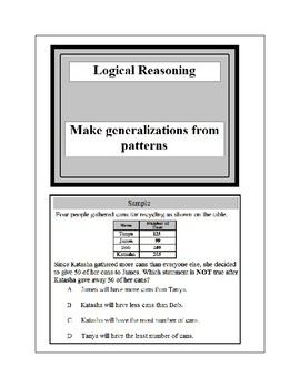 Math Problem Solving-Logical Reasoning 2