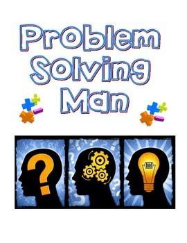 Math Problem Solving Man