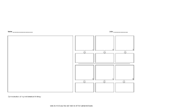 Math Problem Solving Mapping Word Problems Graphic Organizer