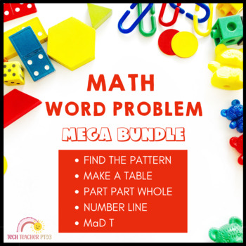 Problem Solving Mega Bundle - over 200 pages of activities