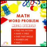 Math Problem Solving Bundle Distance Learning