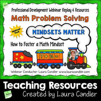 Math Problem Solving: Mindsets Matter Webinar PD Pack