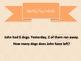 Math Problem Solving Posters Orange