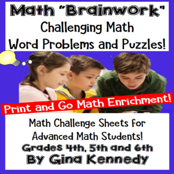 Math Problem-Solving, Puzzles, and Brainteasers for Advanced Math Students