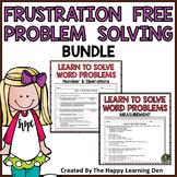 Math Problem Solving RTI Intervention BUNDLE