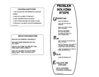Math Problem Solving Resource