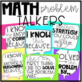 Math Problem Solving Response Stems