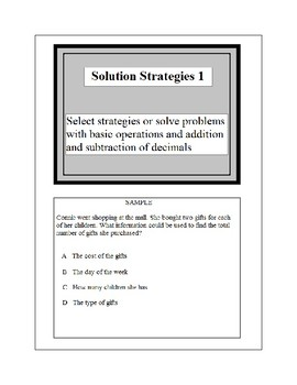 Math Problem Solving-Solution Strategies 1-2