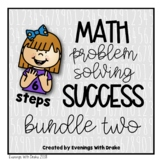 Math Problem Solving Steps Mini Bundle 2