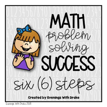 Math Problem Solving Steps (with Interactive Notebook Option)