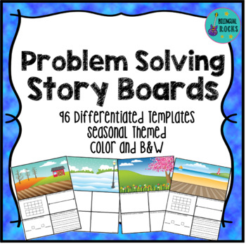 Math Problem Solving Storyboards