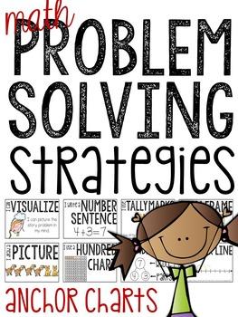 Math Problem Solving Strategies FREEBIE