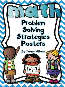 Math Problem Solving Strategies Posters