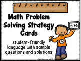 Math Problem Solving Strategy Cards