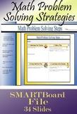 Math Problem Solving Strategy Placemat Smartboard File