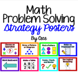 Math Problem Solving Strategy Posters