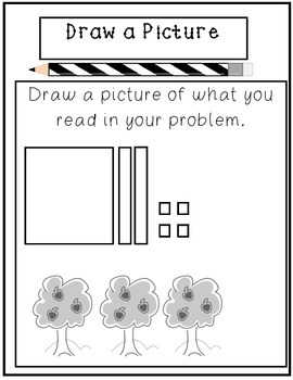 Math Problem Solving Strategy Posters and Cards