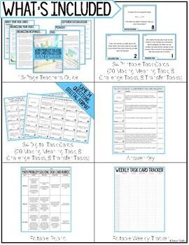 Math Problem Solving Task Cards: Multiplication Word Problems: Set 2 of 3