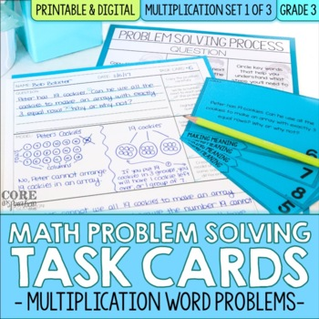 Distributive Property Of Multiplication Word Problems Teaching ...