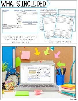 multiplication word problem solving task cards for third grade math set 3 of 3. Black Bedroom Furniture Sets. Home Design Ideas