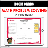 Math Problem Solving Task Cards Part Part Whole BOOM LEARNING CARDS Activity