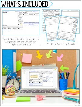 Addition & Subtraction Word Problem Solving Task Cards for Third Grade Math