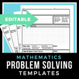 Math Problem Solving Template- A Structured Approach to Solving Any Math Problem