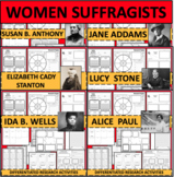 WOMEN'S SUFFRAGE WOMAN SUFFRAGISTS BUNDLE RIGHT TO VOTE