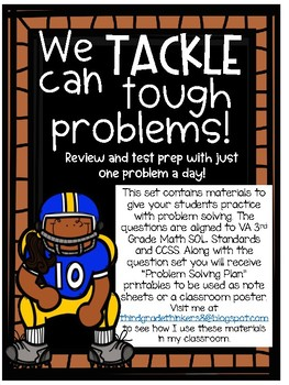 Math Problem Solving Test Prep: We Can Tackle Tough Problems